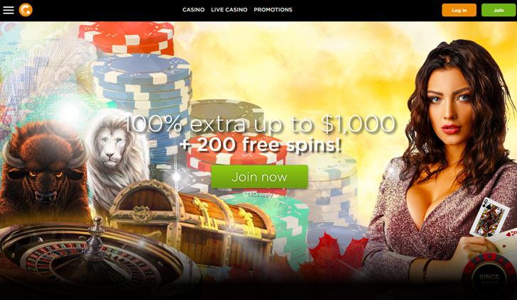 Casino.com Website - Mobile