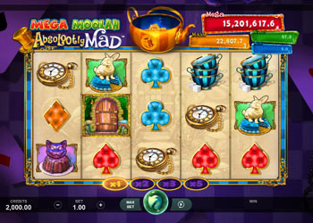 Mega Moolah Absolootly Mad - Slot Game