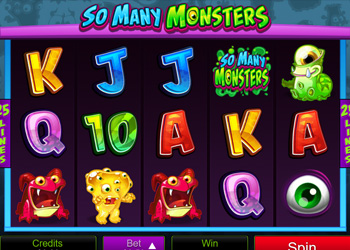 So Many Monsters - Slot Game