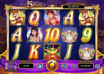 5 Wishes - Slot Game