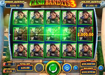 Cash Bandits 3 - Slot Game