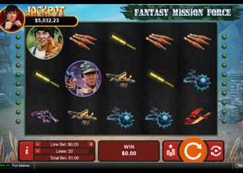 Fantasy Mission Force - Slot Game