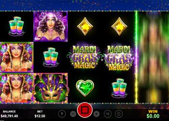 Mardi Gras Magic - Slot Game