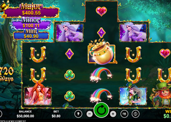 Paddys Lucky Forest - Slot Game
