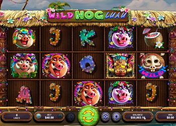 Wild Hog Luau - Slot Game